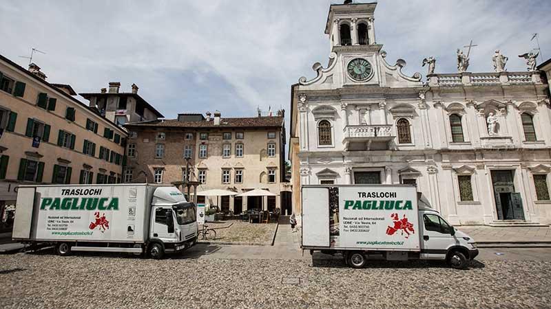 Traslochi aziendali a Udine? Traslochi Pagliuca!