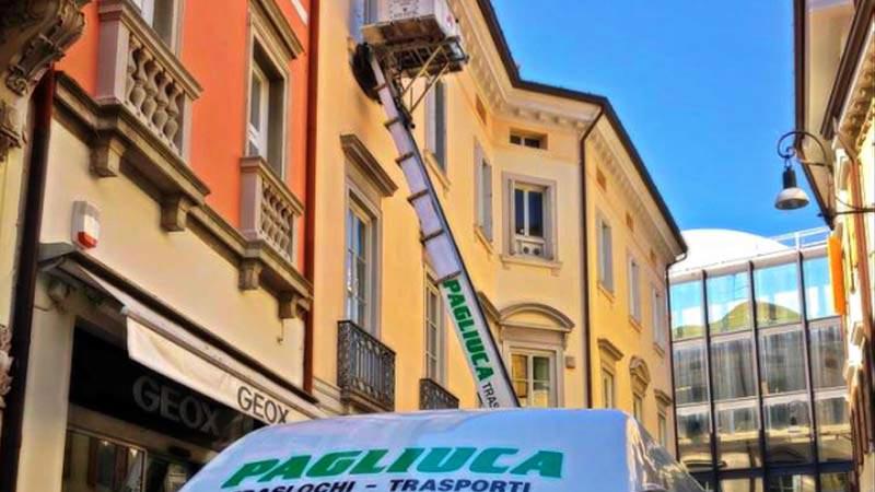 Traslochi Pagliuca: noleggio piattaforme aeree