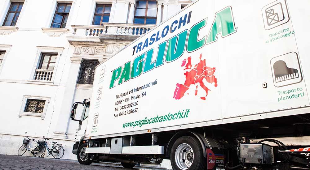 Traslochi Pagliuca: mezzi all'avanguardia