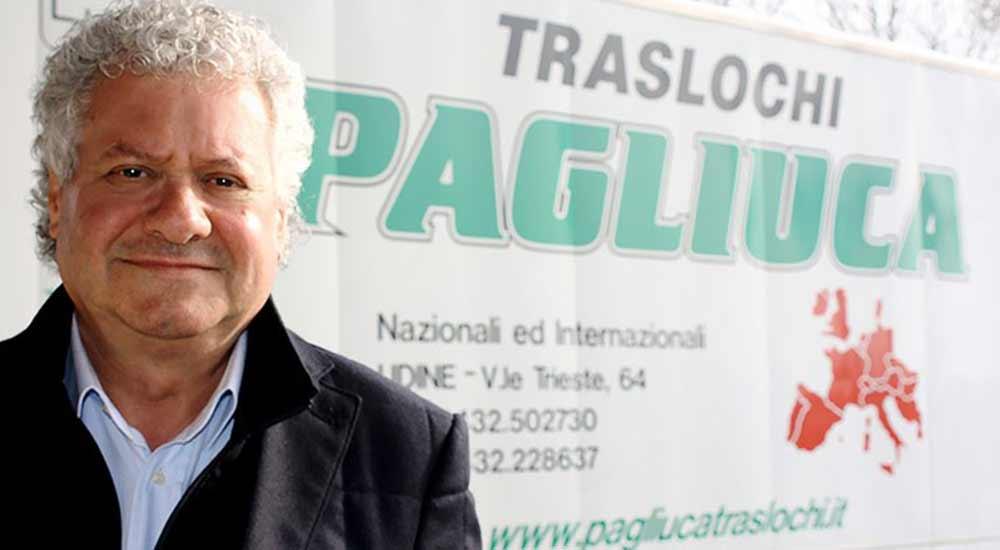 Antonio Pagliuca, Fondatore di Traslochi Pagliuca Srl