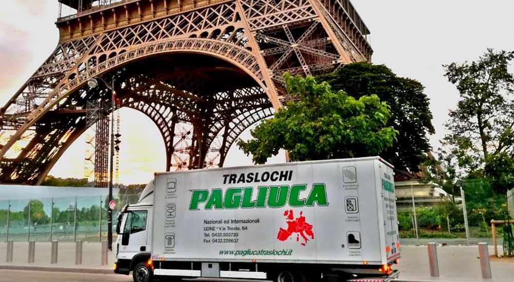 Traslochi Internazionali: Parigi
